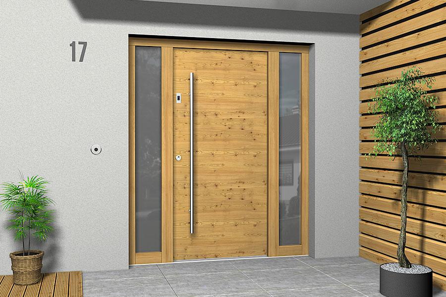 Holz Haustüren Modern von Variotec